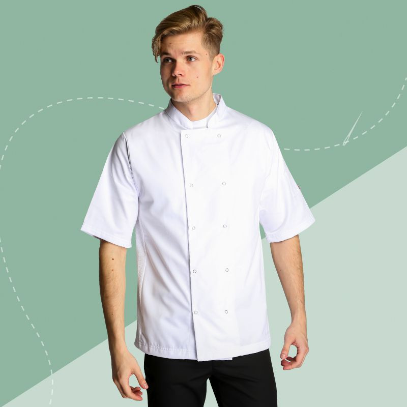 Oliver Harvey Short Sleeve Cheshire Chef Jacket