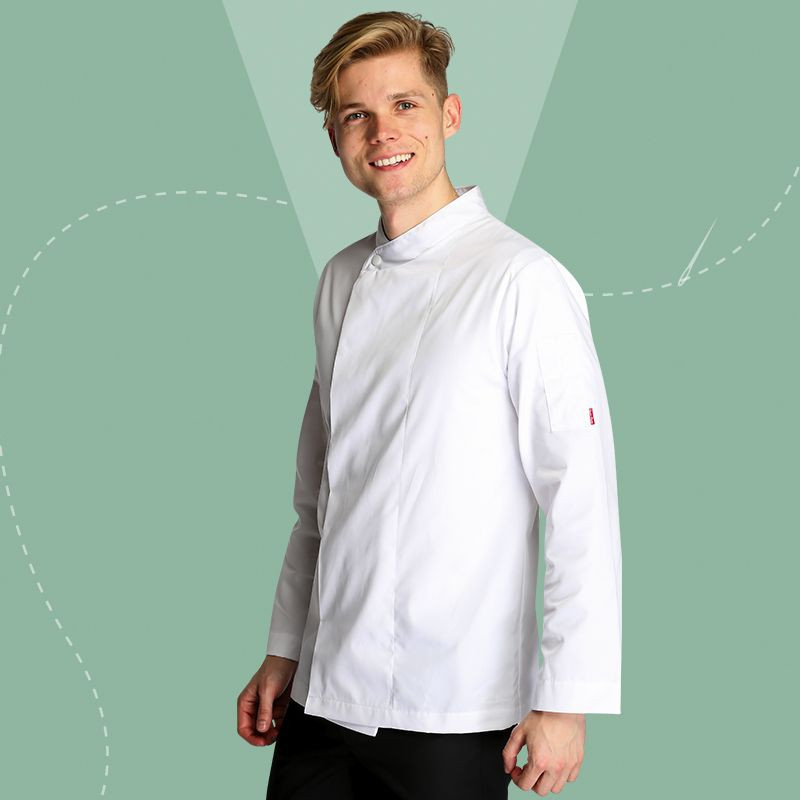 Oliver Harvey Long Sleeve Suffolk Chef Jacket